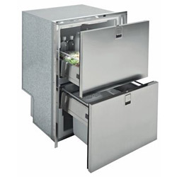 Isotherm Drawer DR 160 Light Stainless Steel (INOX) Refrigerator