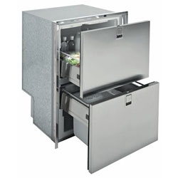 Isotherm Drawer DR 160 Light Stainless Steel (INOX) Freezer
