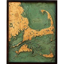 Wood Chart Cape Cod - Store Pick-Up Only
