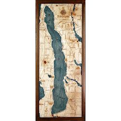 Wood Chart Torch Lake - Internet Orders Only