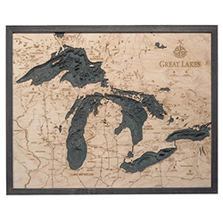 Wood Chart Great Lakes