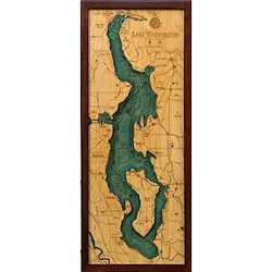 Wood Chart Lake Washington