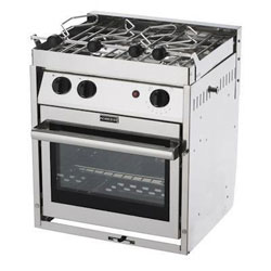 10 2-Burner American Compact Propane Gas Stove with Oven