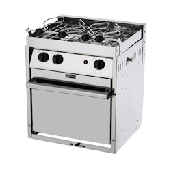Force 10 2-Burner North American Standard Propane Gas Stove with Oven