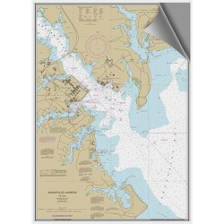 Maptech Decorative Nautical Charts - Annapolis