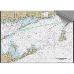 Maptech Decorative Nautical Charts - Block Island Sound