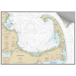 Maptech Decorative Nautical Charts - Cape Cod Bay