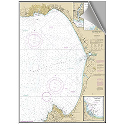 Maptech Decorative Nautical Charts - Monterey Bay
