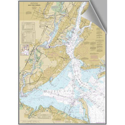 Maptech Decorative Nautical Charts - New York Harbor