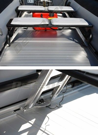 Zodiac Bench On Rail Seat For Inflatable Boats