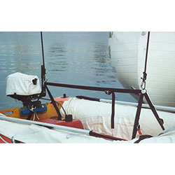 C-Level Dinghy Lift for Davits