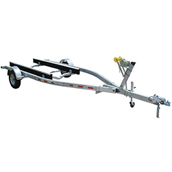 Venture Single-Axle Galvanized Bunk Trailer 2017