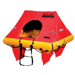 Revere Coastal Elite Liferaft 4-Person / Canister