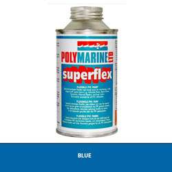 Polymarine Superflex PVC Paint - Blue