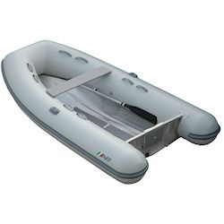 "AB 10 UL Aluminum Hull Inflatable (RIB) 10' 0"", Gray Hypalon, 2017"