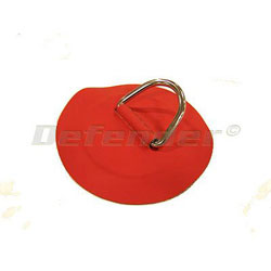 Defender Inflatable Boat Hypalon D-Ring - 50 mm Red
