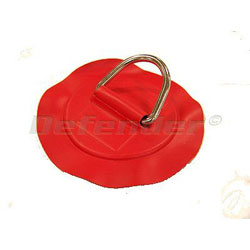 Defender Inflatable Boat PVC D-Ring - 50 mm Red