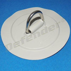 Defender Inflatable Boat PVC D-Ring - 35 mm Gray