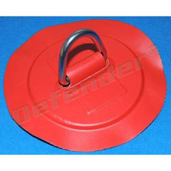 Defender Inflatable Boat PVC D-Ring - 35 mm Red