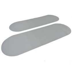 Defender Inflatable Boat PVC Embossed Wear Patches 90 x 30 cm PVC Gray
