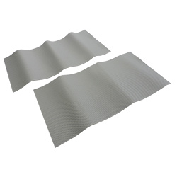 Defender Inflatable Boat PVC Embossed Wear Patches 40 x 20 cm PVC Gray
