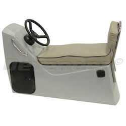 Defender Jockey Seat and Console for Inflatable Boats