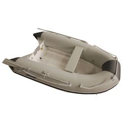 "Defender 265 Rigid Hull Inflatable (RIB), 8' 6"", Lt Gray / Gray PVC, 2018"