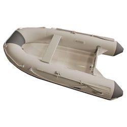 "Defender 300 Rigid Hull Inflatable (RIB) 9' 10"", Lt Gray / Gray PVC, 2018"