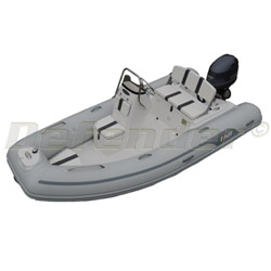 AB Oceanus 12 VST Rigid Hull Inflatable (RIB) with Yamaha F50 EFI 4-Stroke