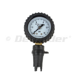 K-Pump Kwik Check Boston Valve Pressure Gauge