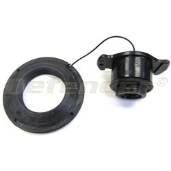 Zodiac Inflatable Boat Replacement Valve Cap and Ring - Black