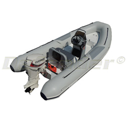 Mercury 460 Ocean Runner RIB With Evinrude 40 Hp E-Tec 2-Stroke
