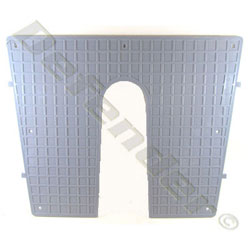Exterior Transom Protection Plate - Flat