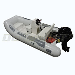 Achilles HB-350DX RIB With Tohatsu 25 Hp EFI 4-Stroke