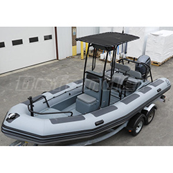 Zodiac Defender Pro 650DP With T-Top / Yamaha F150 EFI 4-Stroke