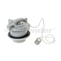 Mercury Drain Plug Assembly for Inflatable Boats- Long Collar