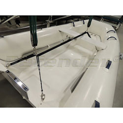 C-Level Adjustable Dinghy Lift 2 Arm Davits