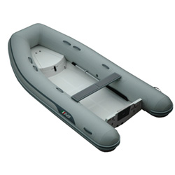 "AB 12 VS Rigid Hull Inflatable (RIB) 12' 0"", Gray Hypalon, 2019"