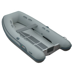"AB 10 VL Rigid Hull Inflatable (RIB) 10' 6"", Gray Hypalon, 2018"