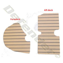 Synthetic Teak Decking for Zodiac (YL340DL & SEASPORT 340DL/360DL)