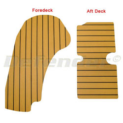 Zodiac Yachtline YL380DL Teak Decking