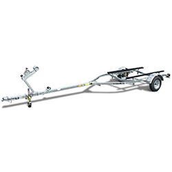 Load Rite Elite Series Single-Axle Galvanized Bunk Trailer 2017