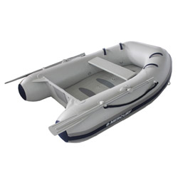 "Mercury 240, Air Floor 7' 3"",  Gray PVC, 2015"
