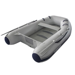 "Mercury 270, Air Floor 8' 4"", Gray PVC, 2018"