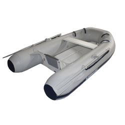 "Mercury 260 Rigid Hull Inflatable (RIB) 8' 2"", Gray PVC, 2015"