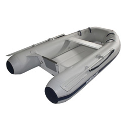 "Mercury 280 Rigid Hull Inflatable (RIB) 8' 10"", Gray PVC, 2017"