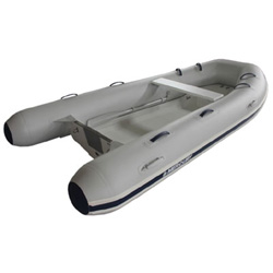 "Mercury 350 Rigid Hull Inflatable (RIB) 11' 2"", Gray PVC, 2016"