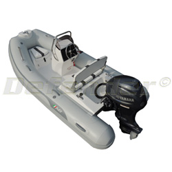 AB Oceanus 11 VST Rigid Hull Inflatable (RIB) with Yamaha F40 EFI 4-Stroke