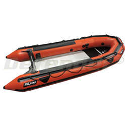 "Zodiac MilPro Grand Raid Series, 13' 9"", Red Inflatable Boat"