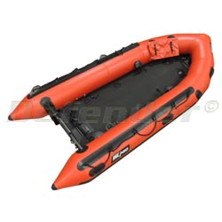 "Zodiac MilPro ERB380 Emergency Response Inflatable Boat, 12' 9"", Red"